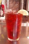 Herbal raspberry iced tea