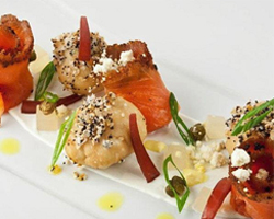 Greenwich Project's Pastrami Cured Salmon (Emmanuel  Cayere, Project Group)