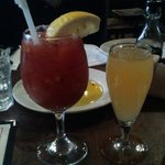Bloody Mary and bellini