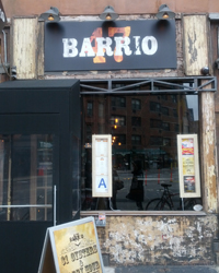 Outside Barrio 47