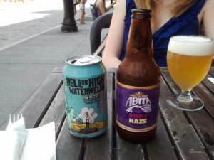 Hell or High Watermelon and Abita
