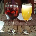 Weekend sangria and Turkish apricot bellini