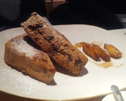 French Toast with Roasted Apples